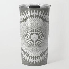 flower of life, alien crop formation, sacred geometry Travel Mug