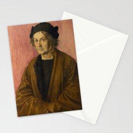 Albrecht Dürer - Portrait of Dürer's Father at 70 Stationery Cards