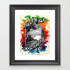 The Apple iVolution Framed Art Print