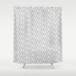 mojave, grey pattern Shower Curtain