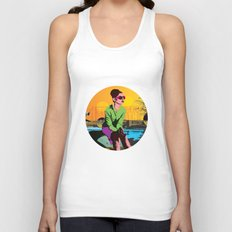 Waiting for marcello Unisex Tank Top