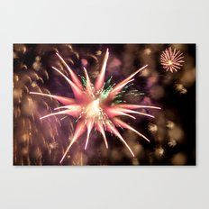 Fireworks - Philippines Canvas Print