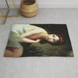 Louise Élisabeth Vigée Le Brun - Julie Le Brun as a Bather Rug