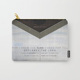 Plans to Prosper You Carry-All Pouch