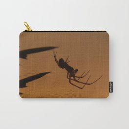 Sunset Spider Carry-All Pouch