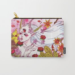 Flower Demon Carry-All Pouch