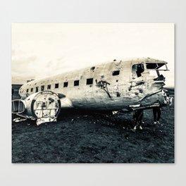 Icelandic Plane Canvas Print