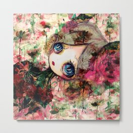 Creature in Bloom Metal Print