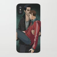 sterek iPhone & iPod Cases featuring Sterek by callahaa