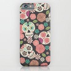 Sugar Skulls Slim Case iPhone 6s