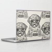 persian Laptop & iPad Skins featuring Persian Pug by Huebucket