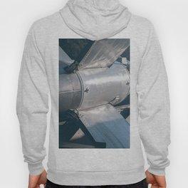 Ballistic Rocket. Nuclear Missile With Warhead. Hoody