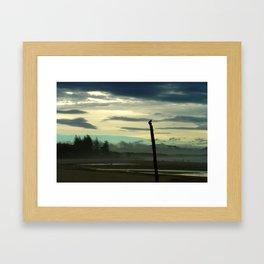 The Mists of Byron Bay Framed Art Print