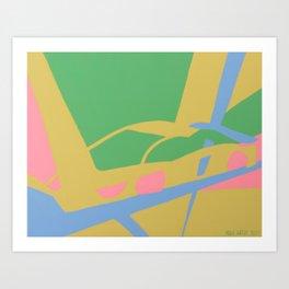 Supercar 001 Art Print