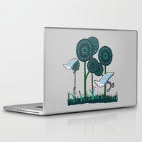 phoenix Laptop & iPad Skins featuring Phoenix by Evi Radauscher