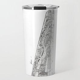 The tower of Disaster Travel Mug