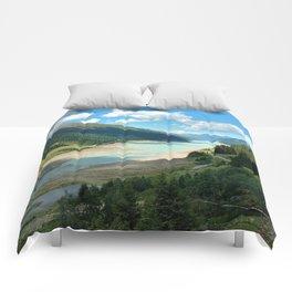 Gepatsch Reservoir Kaunertal Glacier Austria Alps Landscape Comforters