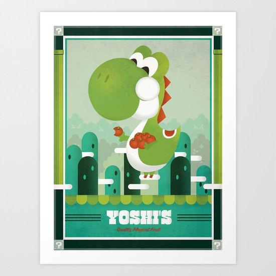 Yoshi's Quality Fruit Art Print