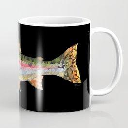 Geometric Rainbow Trout Coffee Mug