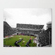 Love Lane Stadium Canvas Print