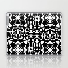 Black and White Square 2 Laptop & iPad Skin