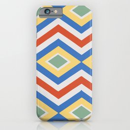 Abstract Stripes Pattern Geometric Decoration iPhone Case