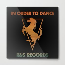 in order to dance Metal Print