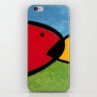 1975 iPhone & iPod Skins featuring La pesca de un Miró by Fernando Vieira