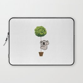 Koala Climbing to Tree Laptop Sleeve