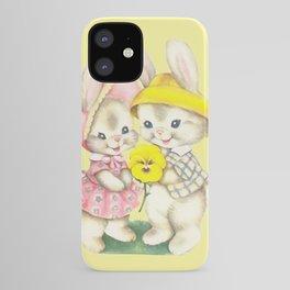 Bunny Girl + Boy iPhone Case