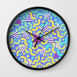 90's Savaaage - Jubilant zebra Wall Clock