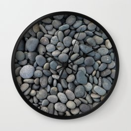 STONES - TEXTURE - COBBLE - WALKWAY Wall Clock