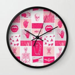 Fright Delight Wall Clock