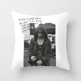 Alex Gaskarth - All Time Low Throw Pillow