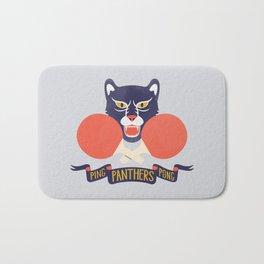 Ping Pong Panthers Bath Mat