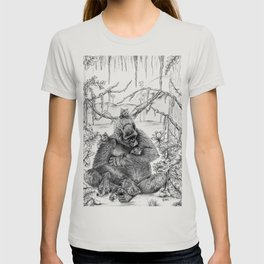 Koko Love Graphite Drawing T-shirt