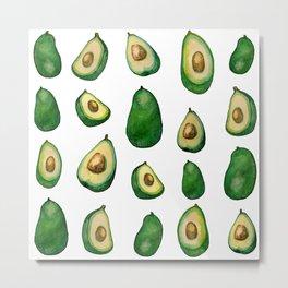 Avocado life Metal Print