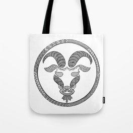 Zodiac Sign Capricorn Tote Bag