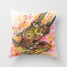 Canelo, the Chameleon Throw Pillow
