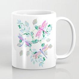 Dragonfly in Flight Coffee Mug