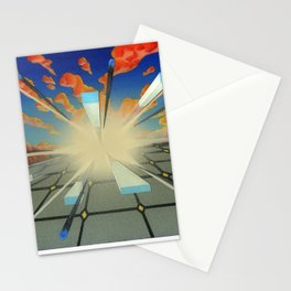 Projected Perspective Stationery Cards