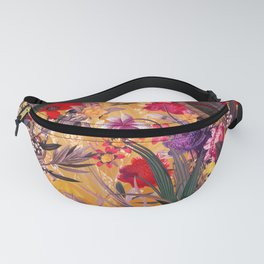 Floral and Birds XXVIII Fanny Pack