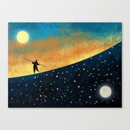 The Tightrope Walker Canvas Print