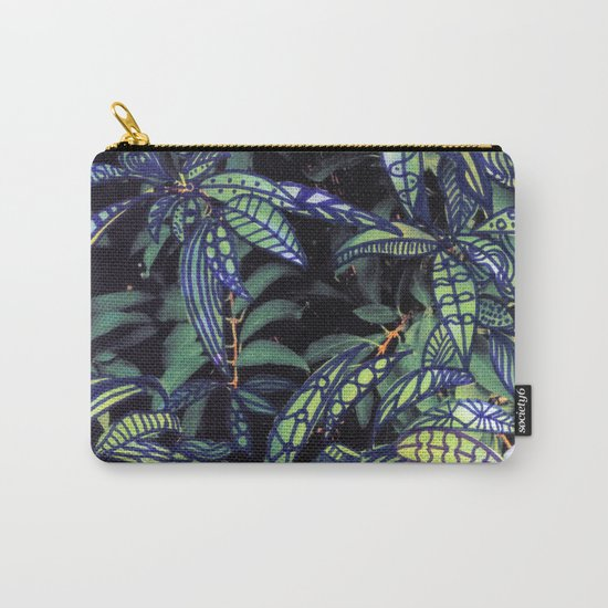 leaves evolved 4 Carry-All Pouch
