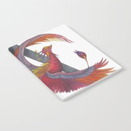 Phoenix Rising - The Alchemy of Fire Notebook