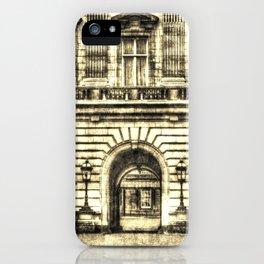 Buckingham Palace London Vintage iPhone Case