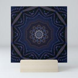 crystal star Mini Art Print