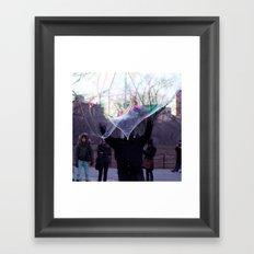 The Bubble Maker Framed Art Print