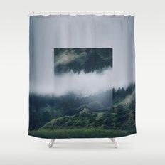 I get nervous.  Shower Curtain