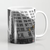 detroit Mugs featuring Detroit  by Galaxys_Limit